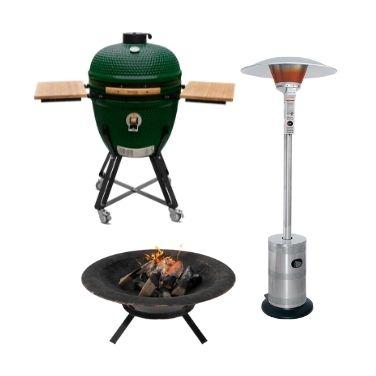 Gaasisoojendid, tuleasemed ja grillid