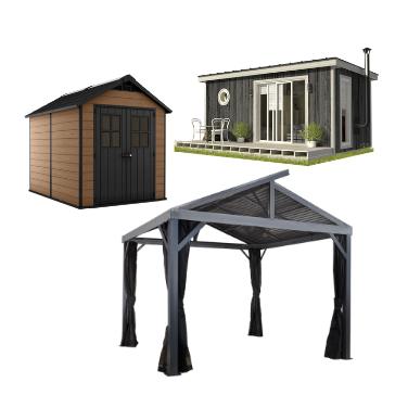 Majad, varjualused ja muud ehitised