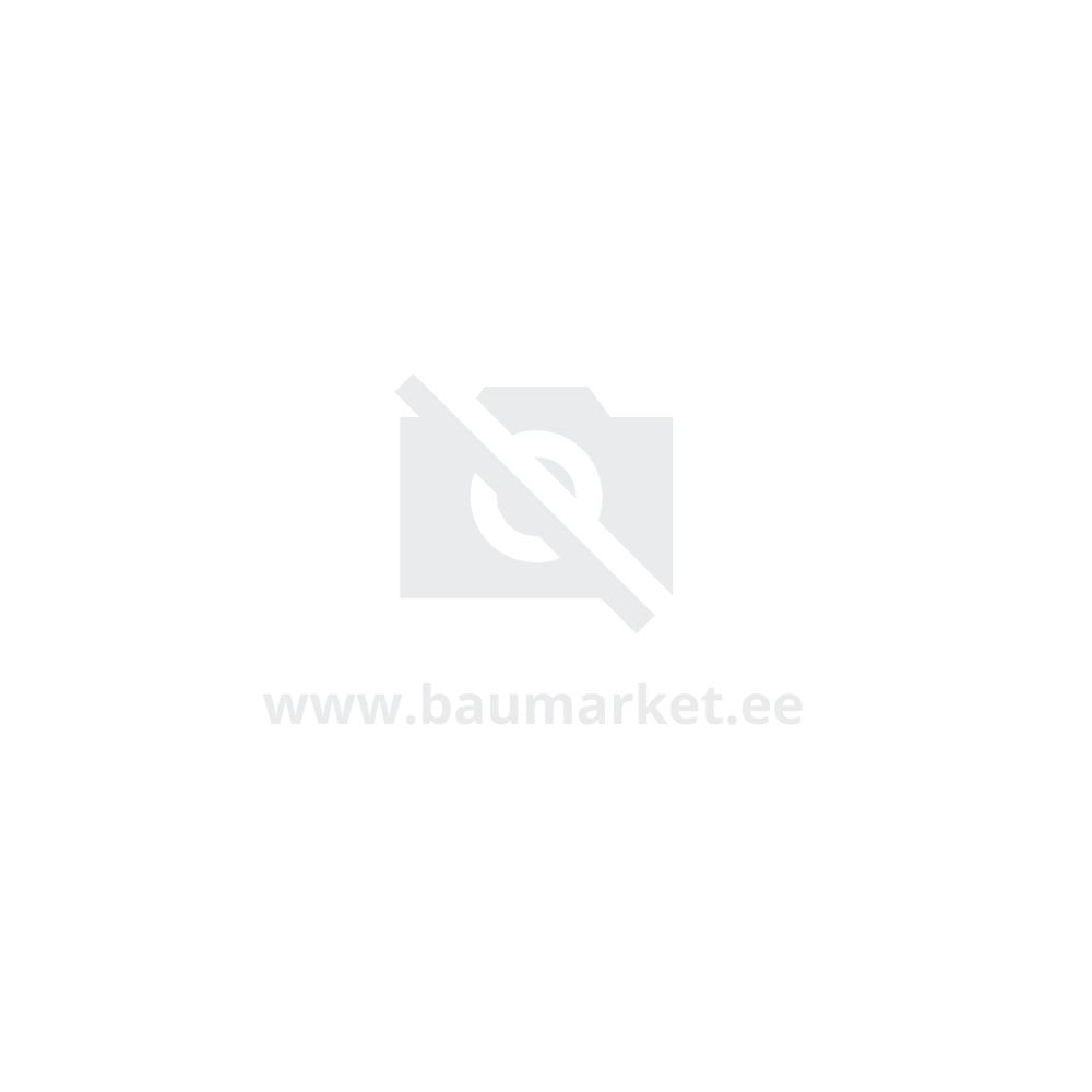 Küünal LUXO, D6.8xH12cm, valge metallik